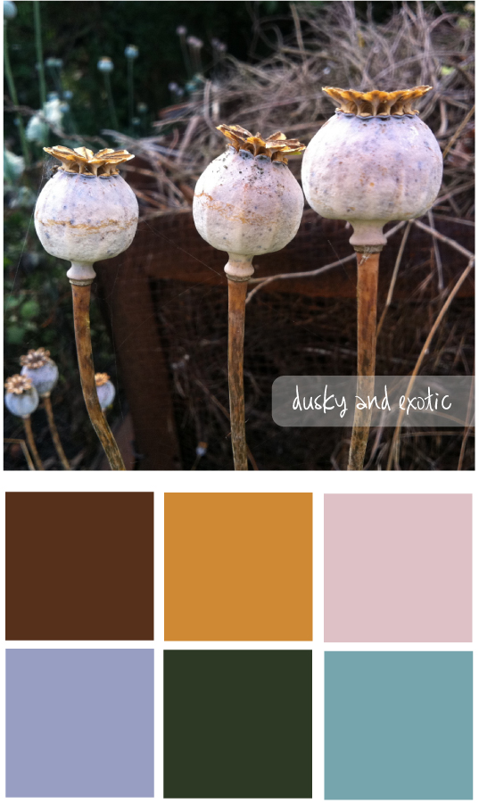 Colour palette 1 - The Unexpected Chic