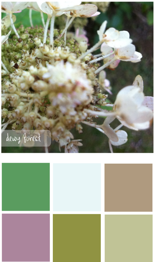 Colour palette 7 - The Unexpected Chic