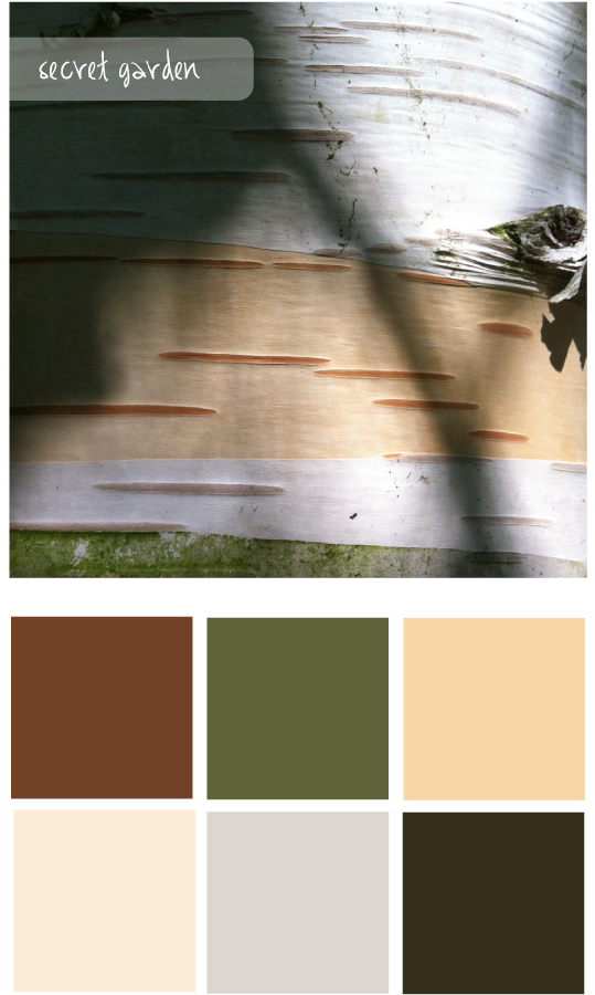Colour palette 8 - The Unexpected Chic