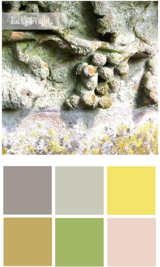 Colour palette 9 - The Unexpected Chic