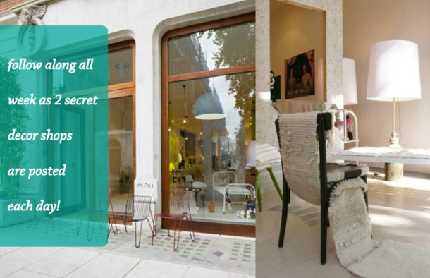 The Unexpected Chic shares Secret Shopping locations on thedecorcafe
