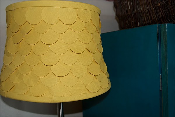 Lampshade project from Kreyv on The Unexpected Chic
