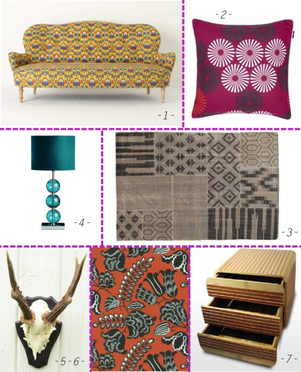 Trend Spotlight on tribal design at The Unexpected Chic