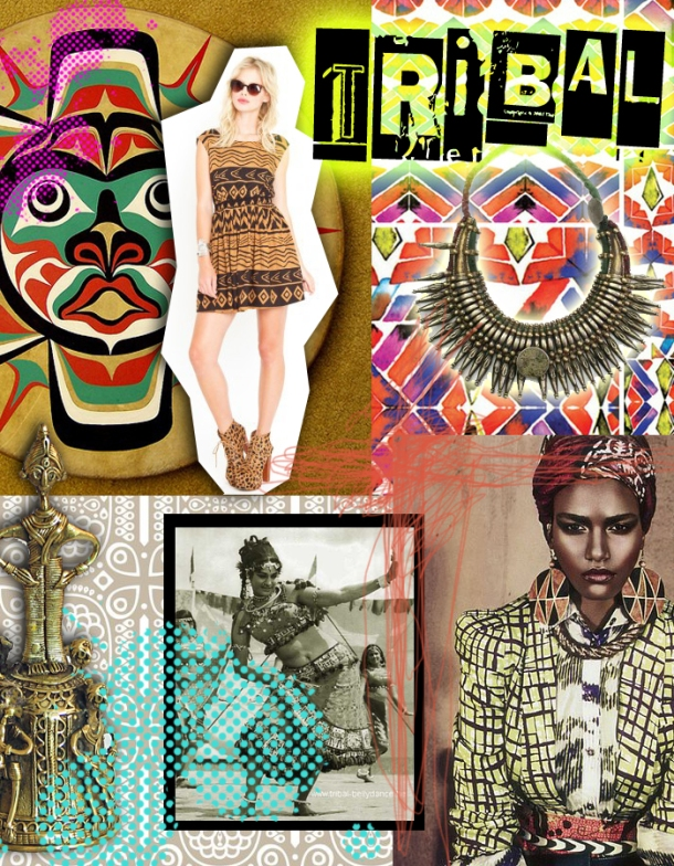 Outfit to Fitout: the tribal trend crosses from fashion to interiors on The Unexpected Chic