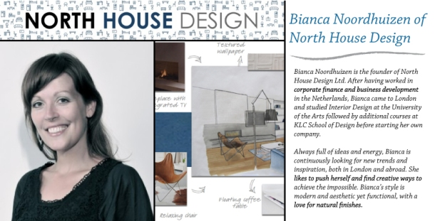 Bianca Noordhuizen from North House Design interviewed on The Unexpected Chic