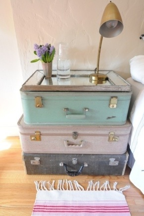 Green Genius: Clever and stylish uses for old suitcases!