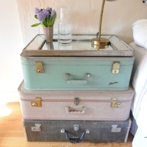 Green Genius: Clever and stylish uses for oldsuitcases!